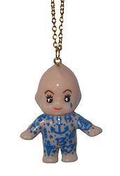 Tattooed Kewpie Doll necklace