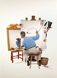 Tim O'Brien's Norman Rockwell for Smithsonian | ILLUSTRATION AGE