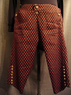 18th Century - Men's Pants