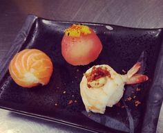 Temarisushi by me #temari #sushi #roundnigiri #barsushi