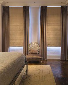Design: Leslie Hayes Interiors Serene bedroom
