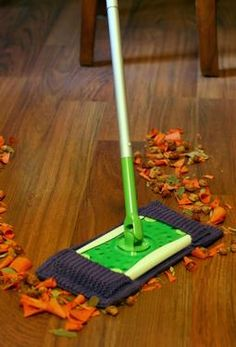 Clean Sweep Cover- make two and wash when used! what a $ saver!