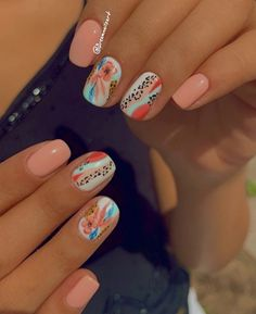 Cute Simple Nails, Simple Acrylic Nails, Best Acrylic Nails, Perfect Nails, Pretty Nails, Aycrlic Nails, Swag Nails, Western Nails, Nail Designs Pictures
