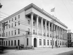 The Charleston Hotel - built 1839, demolished 1960