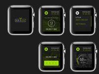 i watch rent a bike app #smart #watch #smartwatch