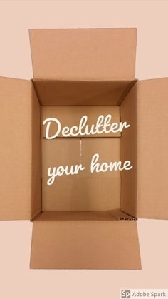 Decluttering with the Outbox Method