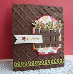 Picket fence die ; Mat stack three ; McGill pine punch ; Diamond plate embossing plate