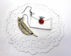 envelope earrings