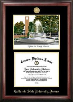 michigan state university spartan gold embossed diploma frame with campus images lithograph products michigan and diploma frame - Michigan State Diploma Frame