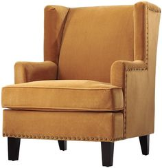 Vincent Wingback Chair $429.00 on sale for $399.00