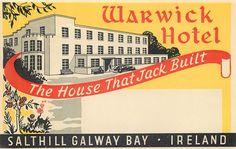 WARWICK HOTEL ~ SALTHILL GALWAY BAY IRELAND