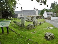 A pre-historic chambered cairn, dating from once containing at least three chambers, forecourt and arched entrance, and originally roofed with stone and turfs. Old Cemeteries, Isle Of Man, British Isles, Great Britain, Mount Rushmore, Entrance, Manx, Earth, Explore