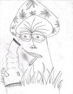 trippy shroom coloring pages - Google Search