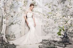 Top UK designers Ellis Bridals launch their 2014 Blossom collection @Maggie Moore White