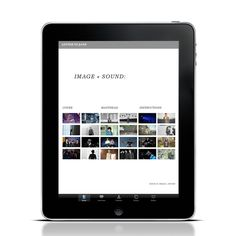 Letter to Jane Magazine: Issue 01 for iPad by Timothy Moore, via Behance
