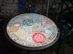 mosaic table top | by smilisazi