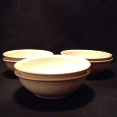 Pfaltzgraff  Filigree cereal bowls, set of six (plates, mugs in another listing)