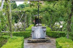 Polesden Lacey Garden Surrey