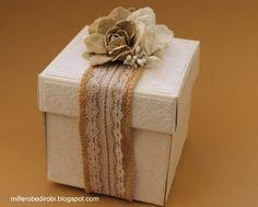 Robe di Robi: Explosion box matrimonio con le sizzix-thinlits