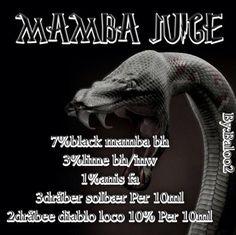 <b>Mamba juice</b><br /><b>Baloo2</b> har tilladt at vi må bruge hans opskrifter.