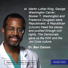 Great quote from Dr. Ben Carson!