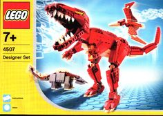 Make and Create - Prehistoric Creatures  [Lego 4507]