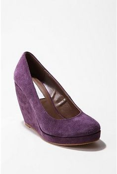 purple wedges- got some of these today! Can't wait to wear them