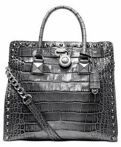 MICHAEL Michael Kors Handbag, Hamilton Large North South Tote  I love the Hamilton, this one is just fun!