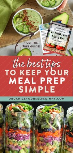 The Best Tips To Keep Your Meal Prep Simple | Meal Prep for Beginners - Meal prep is the best strategy for eating healthier and losing weight. In my opinion, both are near impossible without having foods available and ready to eat. I truly believe in meal prep and I want you to believe in it too. Here are my simple meal prep ideas to make life easy and enjoyable! Organize Yourself Skinny | How To Lose Weight | Weight Loss Tips | Healthy Living | Healthy Lifestyle Tips Healthy Freezer Meals, Healthy Eating Habits, Clean Eating Recipes, Healthy Cooking, Cooking Tips, Diet Recipes, Healthy Living, 1500 Calorie Meal Plan, Meal Prep For Beginners