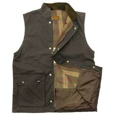 69154aab1af Game Classic Men s Waxed Gilet - Brown Classic Man