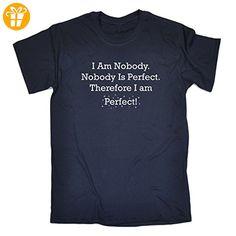 123t Slogans  Herren T-Shirt, Slogan Blau Navy - Shirts mit spruch (*Partner-Link)