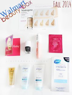 Fall 2014 Walmart Beauty Box Review   Slashed Beauty