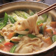 Hoto Noodles: Local Yamanashi Hot Pot Dish for Any Season Asian Recipes, Meat Recipes, Snack Recipes, Cooking Recipes, Healthy Recipes, Food Staples, Home Food, Indonesian Food, Perfect Food