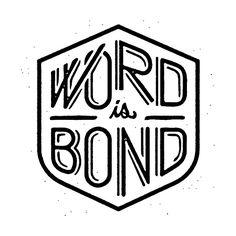 trendgraphy:  Word Is Bond 2 by brandonlyon.net