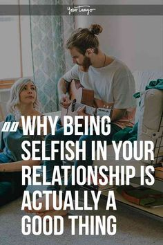 Being selfish in relationships is often looked down upon. However healthy relationships require a little selfishness and being too selfless can often be self-serving. Selfish Relationship, Relationship Challenge, Long Lasting Relationship, Relationship Building, Toxic Relationships, Healthy Relationships, Relationship Advice, Happy Marriage, Marriage Advice