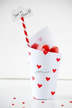 Customized Holiday Candy Packages #diy