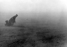 Dust Storm At Lethbridge Research Station by Galt Museum & Archives on The Commons, via Flickr