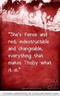 fierce, red, and indestructible>>>>>The Knowledge of The Lady In Red and Life!!