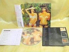 CD/Japan- ROXY MUSIC Country Life w/OBI RARE mini-LP HDCD remaster 1974 #ArtRockNewWavePopRock