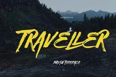 Traveller by celcius design on @creativemarket