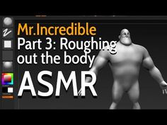 Incredible - 20 hours of video tutorials - ASMR, Riccardo Minervino Body Proportions, Animation Tutorial, Hair Creations, Character Creation, Asmr, Zbrush, I Hope You, Modeling, The Incredibles