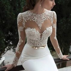 pretty gold wedding dress vintage wedding dress lace wedding dresses ...