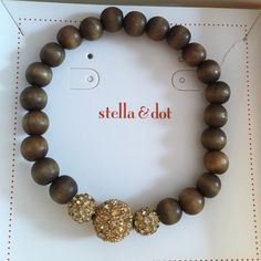 Nwt Stella & Dot Prosper Bracelet