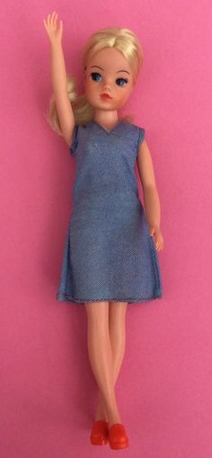 SINDY GORGEOUS 'FUNTIME' HARD HEAD HIGH COLOUR BLONDE 1977 PEDIGREE | eBay Sindy Doll, Doll Toys, Vintage Barbie, Vintage Dolls, Silicone Baby Dolls, Blonde Color, Collector Dolls, My Memory, Doll Face
