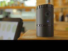 The Angee security camera is ready to listen to you