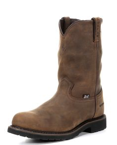 """Being a cowboy begins in the choice of footwear and these Men's Wyoming 10"""" Waterproof Boots deliver just that for work or play. The 10"""" uppers and feet have both been made in Wyoming waterproof leather and with full bootie constructions your feet will always remain Dry"""