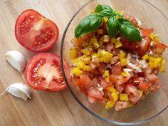KUCHNIA  POLSKA  & mistrzowskie gotowanie: Salsa pomidorowa Salsa, Food And Drink, Ethnic Recipes, Salsa Music, Restaurant Salsa