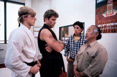 the end of the rainbow The Karate Kid 1984, Karate Kid Movie, Karate Kid Cobra Kai, Old School Movies, Karate Dojo, William Zabka, 1980s Films, Nerd, Ralph Macchio
