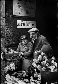 ©️️ Henri Cartier-Bresson/Magnum Photos London. 1955.