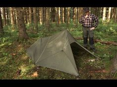 3. Bushcraft Origami - The 10 Best Tarp Setups - YouTube